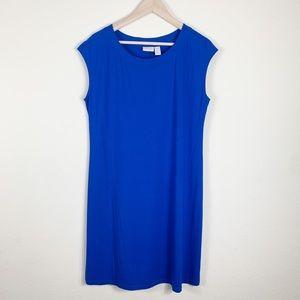 Chicos Cap Sleeve Scoop Neck Dress Size 1